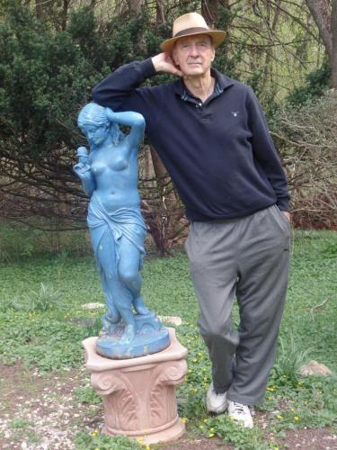 Ken and blue lady