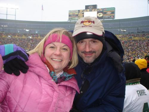 Lisa and Stan in Green Bay