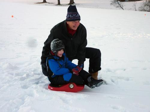 Sledding-with-Sean